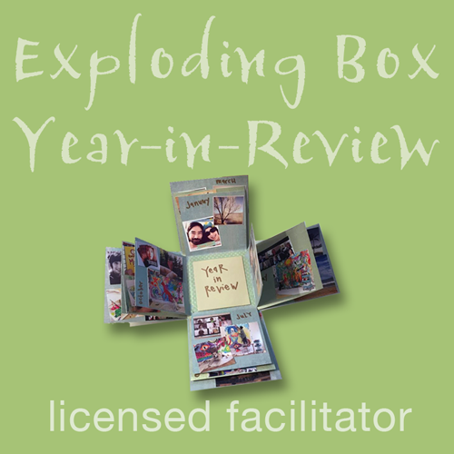 Exploding Box Year-in-Review Facilitator